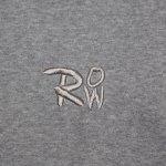 画像9: ROCK ONE'S WORLD ロックワンズワールド ROW emb HOODIE (9)